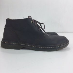 Dr Martens Sussex Chukka Ankle Boots Brown Lace-Up